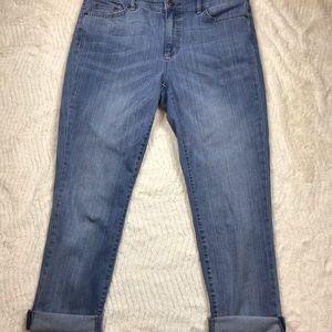 Lauren Ralph Lauren women's straight crop jean
